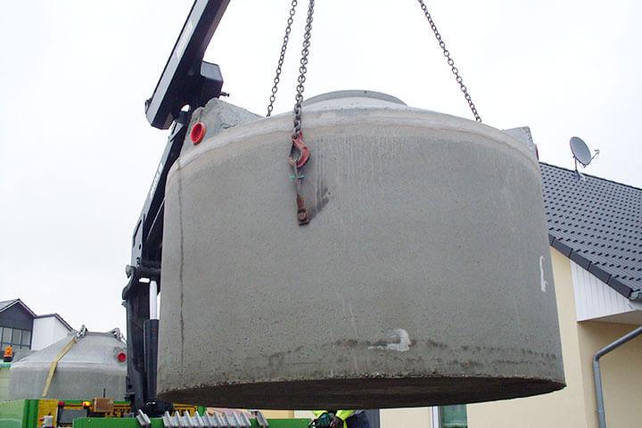 Qualität beim Regenwassertank Beton erkennen