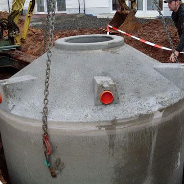 Qualitätsmerkmale beim Regenwassertank Beton